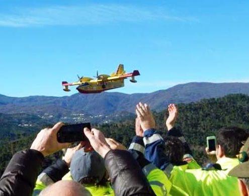 Canadair a Madonna del Monte: il ricordo del disastro aereo